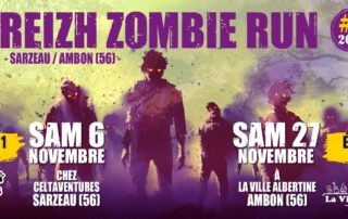 Breizh Zombie Run Celt'Aventures